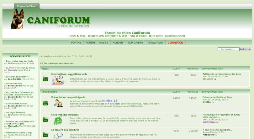 forum caniforum